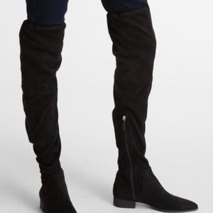 DKNY over the knee boots